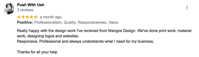 Google Review 5