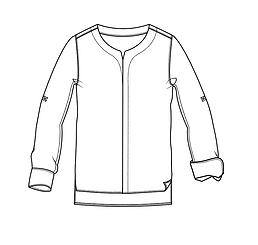 Shirt tech pack sample