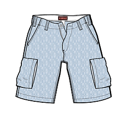 shorts tech pack sample