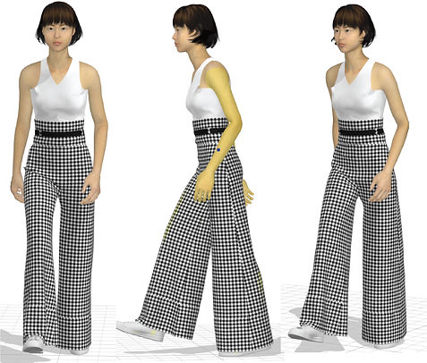 3D trouser techpack