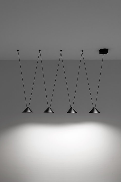 36W_4A/ALMN. Pendant Light
