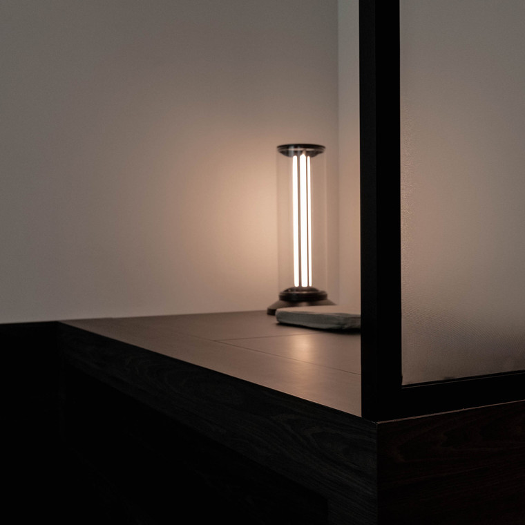 the LAB2.1 Furnishes Homes with Avant Garde Lighting