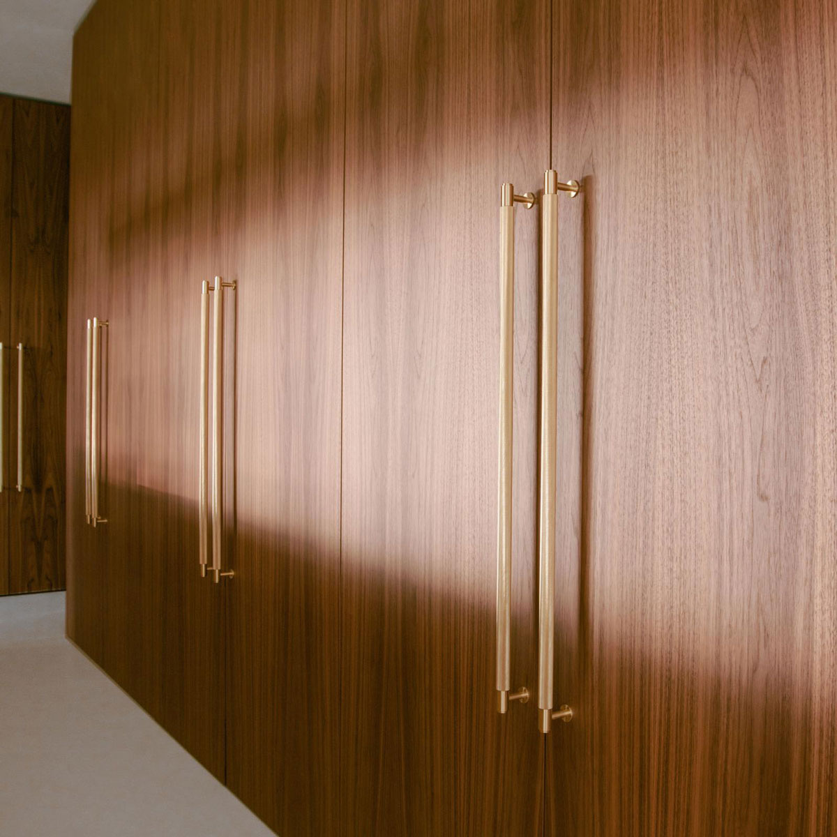 Brass Closet Bar