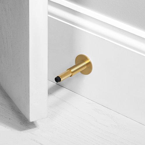 Door Stop Brass (Wall)