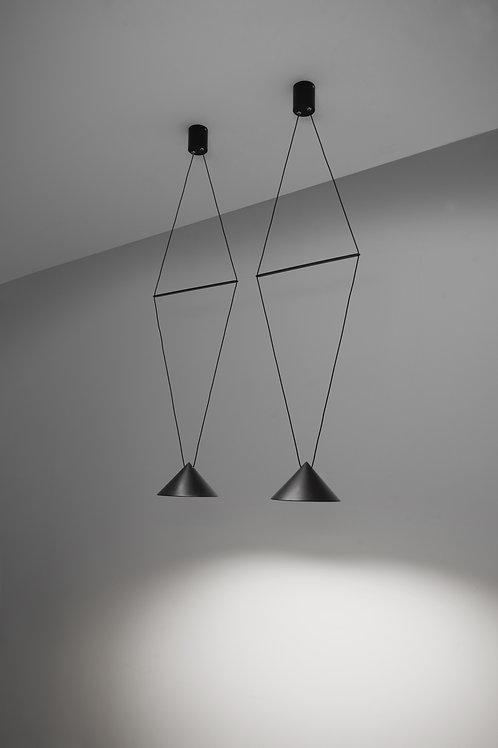 12W_4A/ALMN. Pendant Light