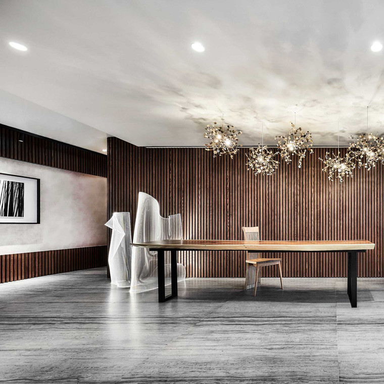 Perfecting Spaces with Light Layering