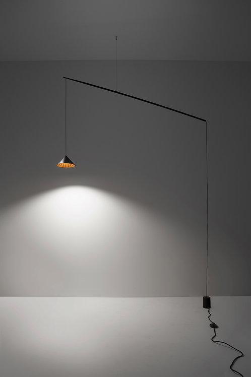 14W_4B/ALMN. Floor Lamp