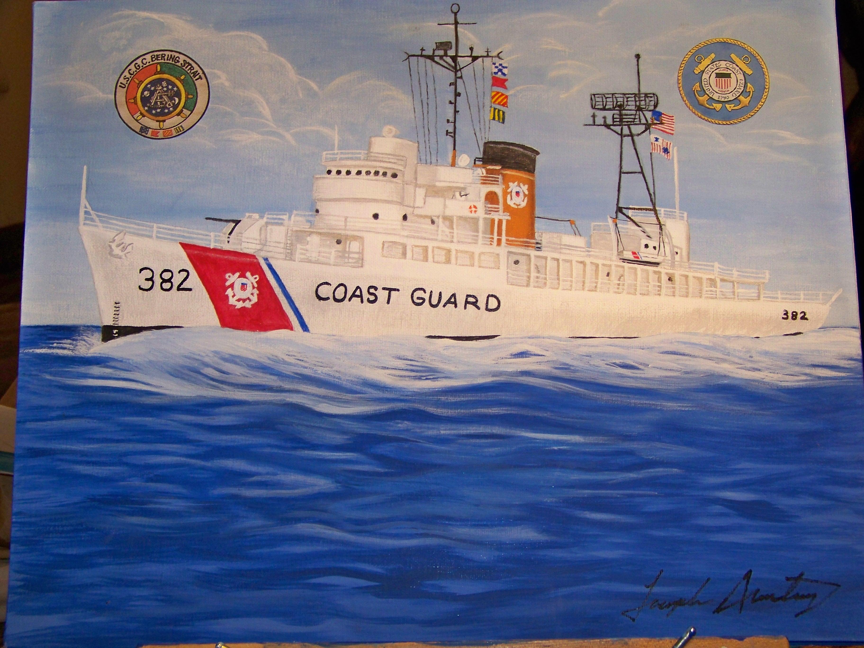 The US Coast Guard Cutter