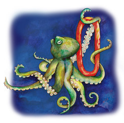 O is for Octopus