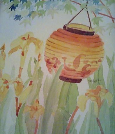 Lantern and Iris