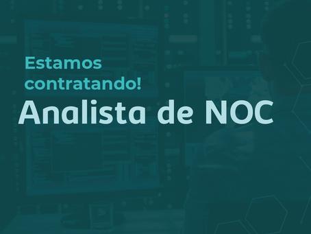 Oportunidade: Analista de NOC