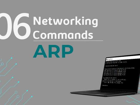 Ep6. ARP - 11 Comandos de rede que todo profissional de TI precisa conhecer