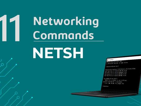 Ep11. NETSH - 11 Comandos de rede que todo profissional de TI precisa conhecer