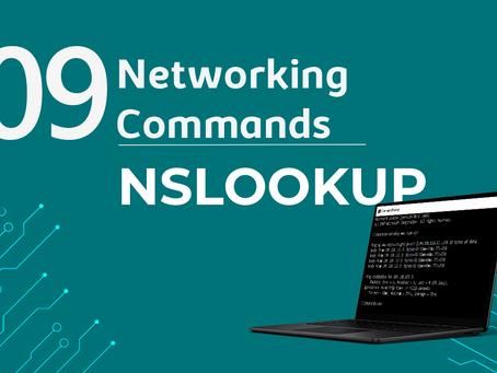 Ep9. NSLOOKUP - 11 Comandos de rede que todo profissional de TI precisa conhecer