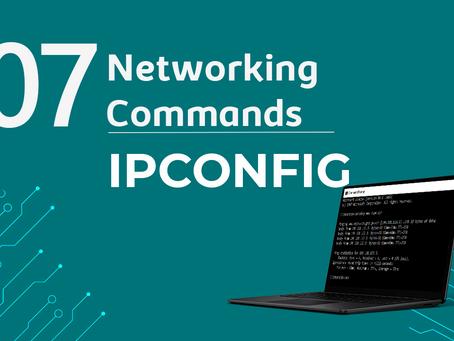 Ep7. IPCONFIG  - 11 Comandos de rede que todo profissional de TI precisa conhecer