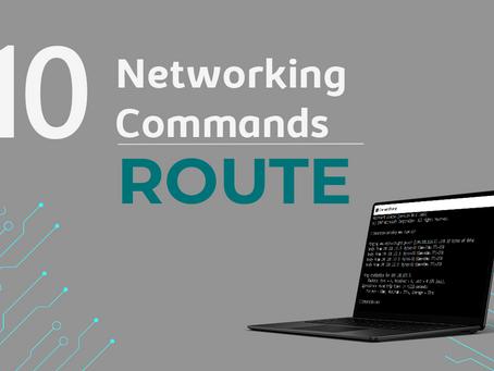 Ep10. ROUTE - 11 Comandos de rede que todo profissional de TI precisa conhecer