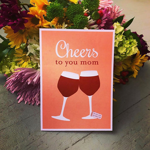 Cheers to Moms!