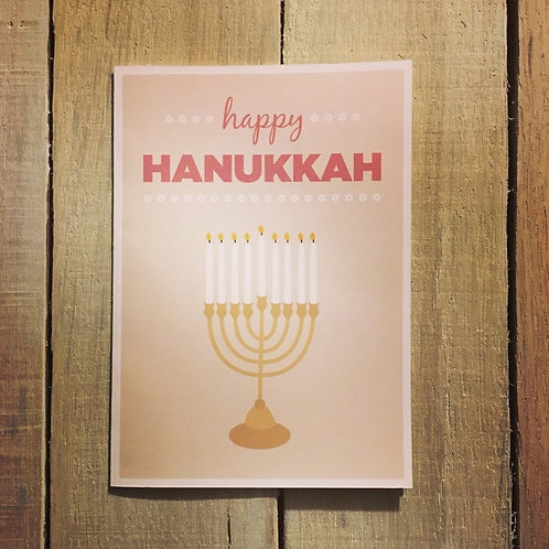 Happy Menorah