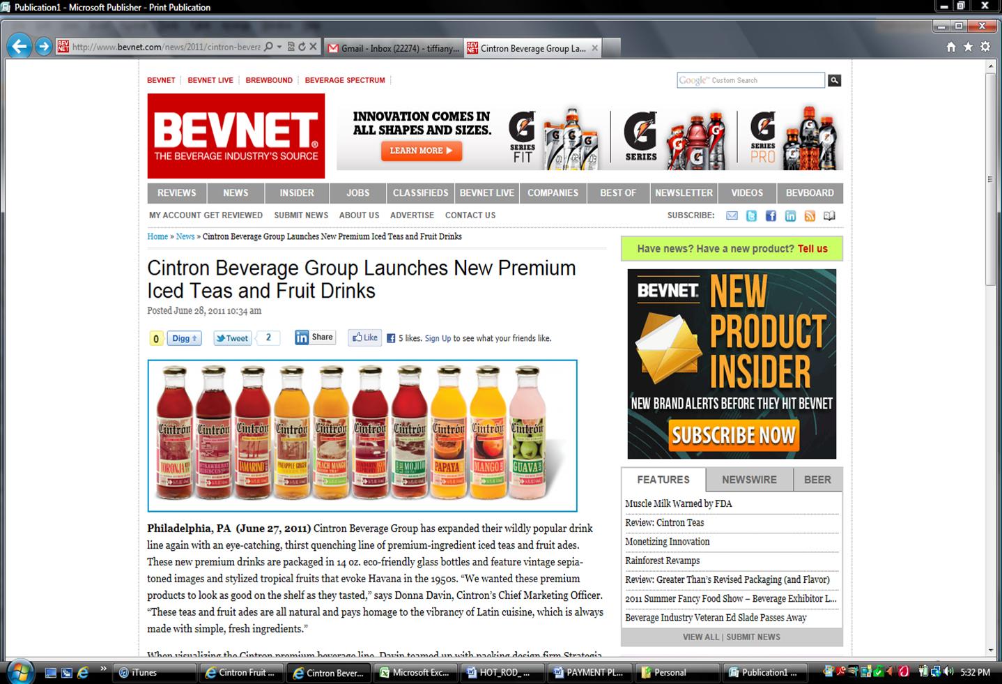 BevNet | Cintron Beverage Group