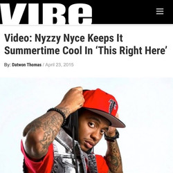 NYCE! Visit www.vibe.com to check out _nyzzynyce new video..