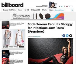 _betmusicmatters artist _sade_serena #PREMIEREs #remix with _billboard to her new 🔥🔥🔥single #DuM