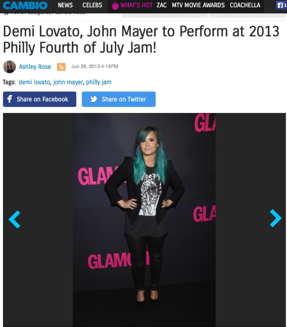 AOL Cambio | Demi Lovato