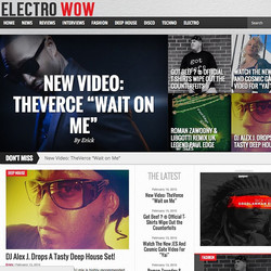 Instagram - #wow! Guess who's on  the homepage of #Electrowow @theverce. Check o
