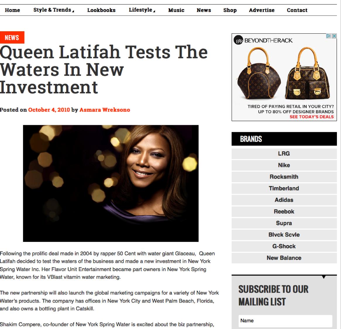 So Jones |Queen Latifah