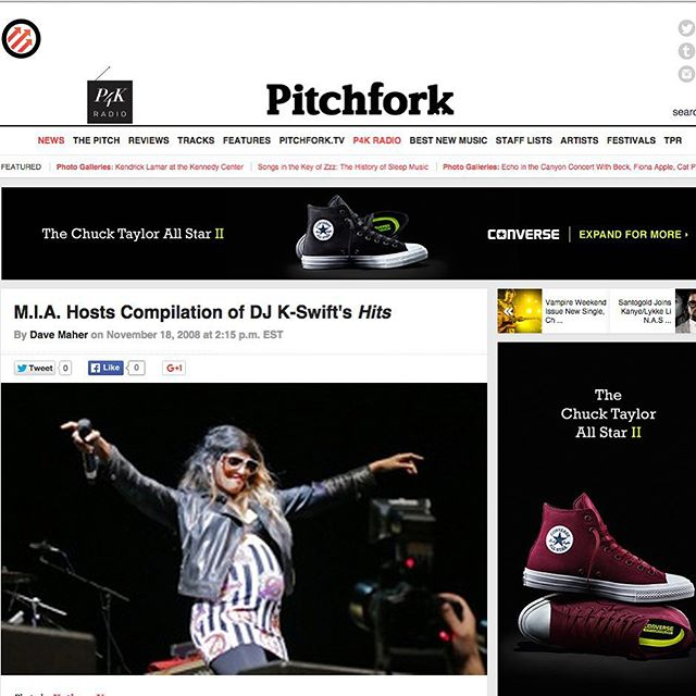 _pitchfork was recently sold to _condenast for #throwbackthursday we dug in our #clip book and found