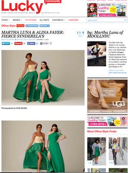 Lucky Magazine | Suni Silvan