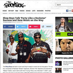 #musicnews _shopboyzmusic spoke with _theboomboxgram about their new #EDM and #hiphop #album that is