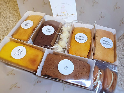 DAIRY FREE Wedding Cake Sample Box