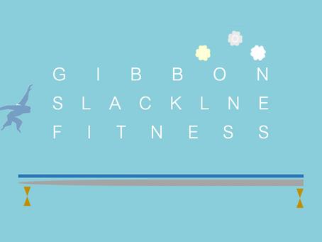 GIBBON SLACKLINE FITNESS公式サイト 開設