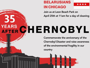 35th anniversary of the Chernobyl Disaster