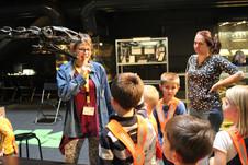 Besuch im Kulturama ZH zum Thema Dinosaurier. Oktober 2019