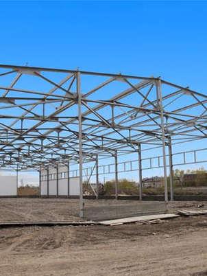 Строительство быстровозводимых промышленных ангаров в Санкт-Петербурге и Ленинградской области.