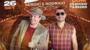 Sérgio e Rodrigo acústico no Max Min, dia 26 de setembro