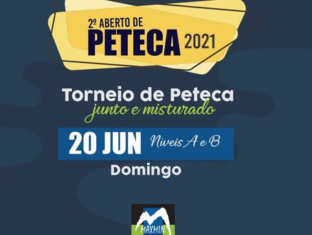2º Aberto de Peteca 2021