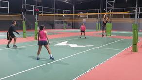 Torneio Black & Pink  de Peteca do Max Min Clube Montes Claros/MG realizado em 10/12/2020