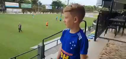 Mensagem do garoto Bernardo sobre os esportes no clube