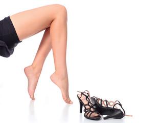 A dor nas pernas