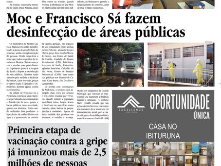 BIOMAIS FAZ DESINFECÇÃO DE ÁREAS PÚBLICAS EM FRANCISCO SÁ