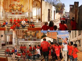 Visita a Igreja Matriz e ao corredor cultural