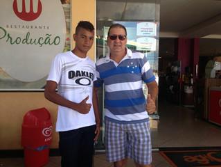 Adolescente do Paula Elizabete é contratado pelo Clube America Mineiro