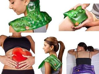 Bolsa de gelo e bolsa quente (Termoterapia)