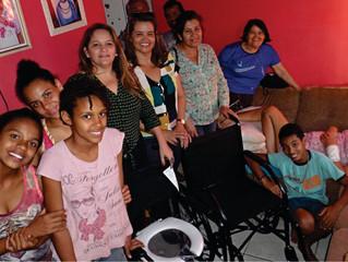 DOAÇÕES DE CADEIRAS DE RODAS