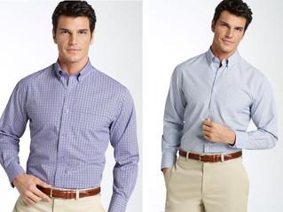Usando certo, as camisas sociais de algodão