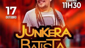 Junkera Batista no Bar Visual neste domingo