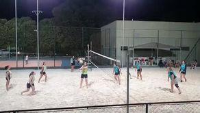 Veja como foi o torneio relâmpago do vôlei de areia
