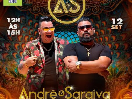 André e Saraiva neste domingo no Bar Visual